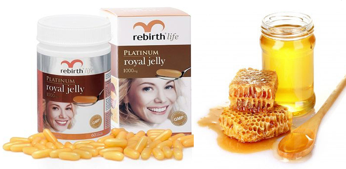 vien-uong-sua-ong-chua-cua-uc-Rebirth-Platinum-Royal-Jelly